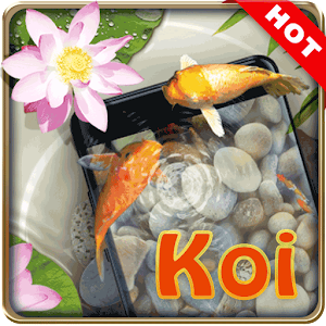 Koi pond 3D live wallpaper For PC