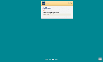 Screenshot of Advanced English & Thesaurus