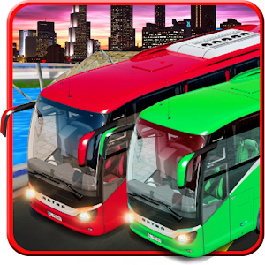 Indian Bus Traffic Racing 3D