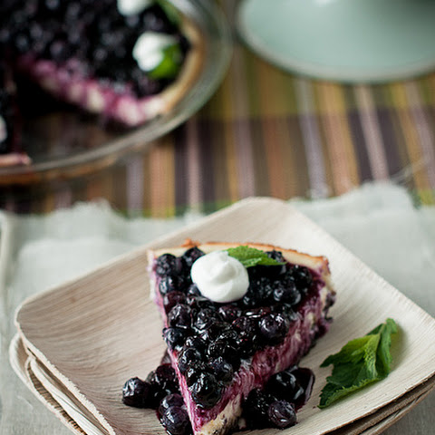 Super Light Blueberry Cream Pie Recipe — Dishmaps