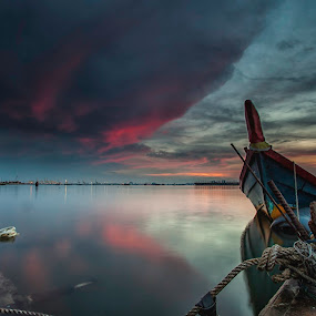 Sunrise @ Nautilus Bay by P Hin Cheah - Landscapes Sunsets & Sunrises ( nautilus bay, jelutong, penang, nautilys, pink )