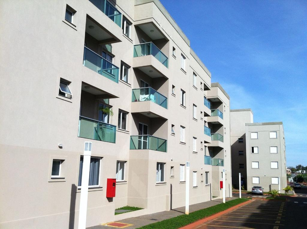 Apartamento residencial à venda, Conjunto Frei Eugênio, Uberaba - AP1979.