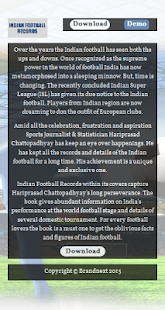 Indian Football Records - screenshot