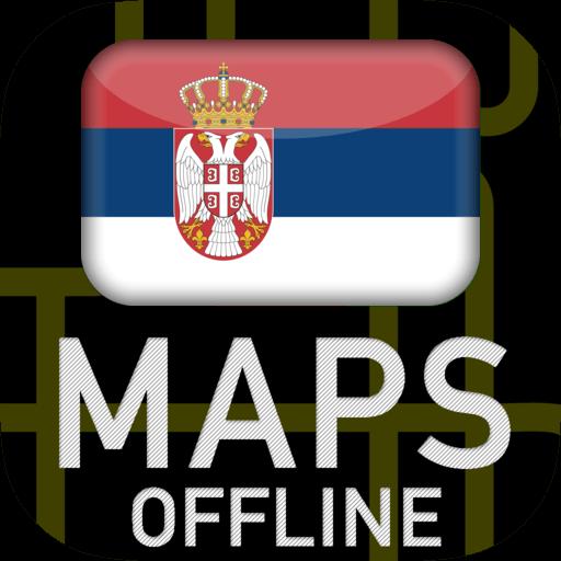 Android aplikacija 🌏 ГПС Мапе Србије: Оффлине Мап Навигатион