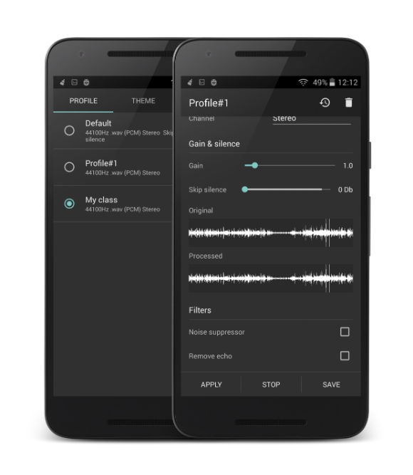 Recordr - Sound Recorder Pro Screenshot 2