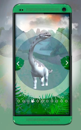 Dinosaurs 3D Coloring Book screenshot 1