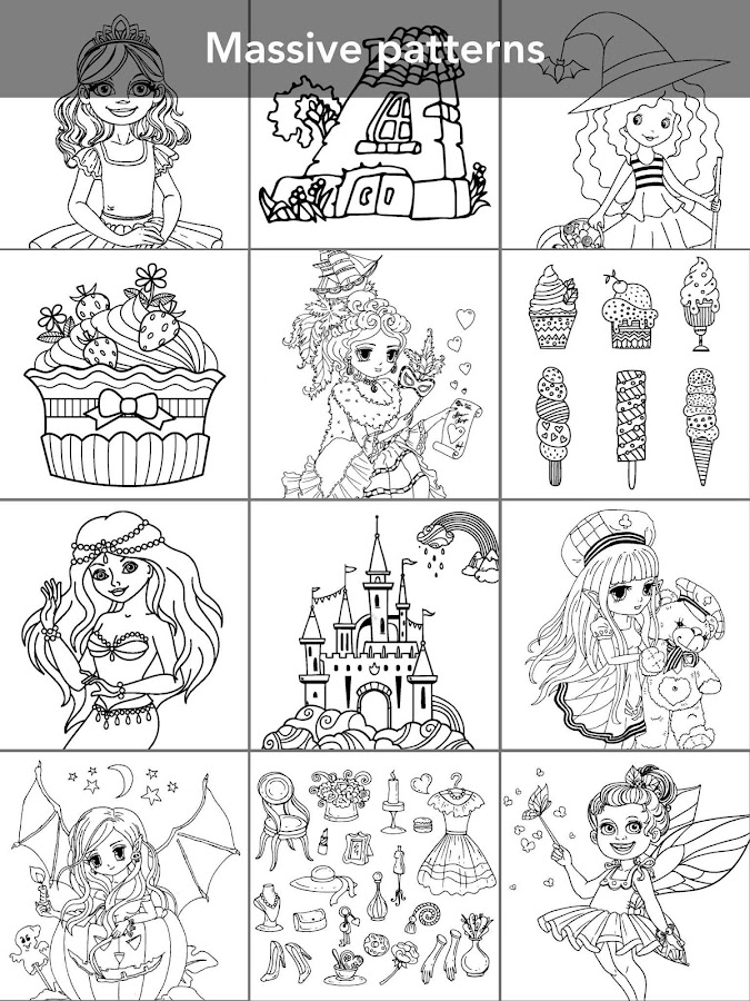 Princess coloring book Screenshot 11