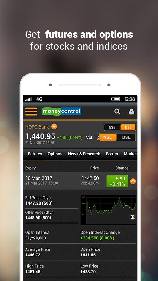 Moneycontrol Markets on Mobile Screenshot 3