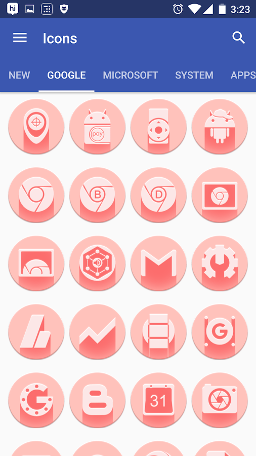 Pink Multilauncher Icon Pack Screenshot 19