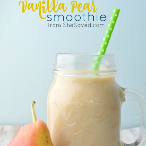 Vanilla Pear Smoothie
