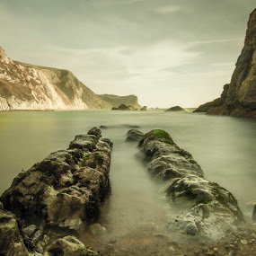 Out to Sea by Neil Hannam - Landscapes Beaches