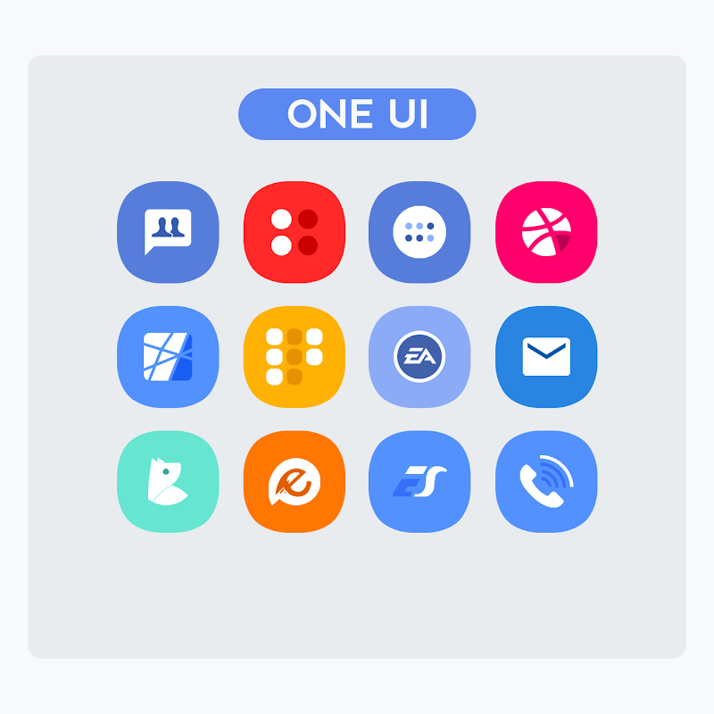 OneUI - Icon Pack Screenshot 2