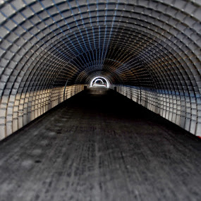 The tunnel........ by Joni Alir - Artistic Objects Other Objects
