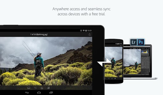 App Adobe Photoshop Lightroom apk for kindle fire