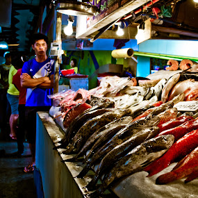 fish market by Fjapole Go Barcelon - Landscapes Travel
