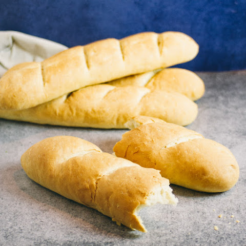 Soft & Chewy Baguettes | French Bread