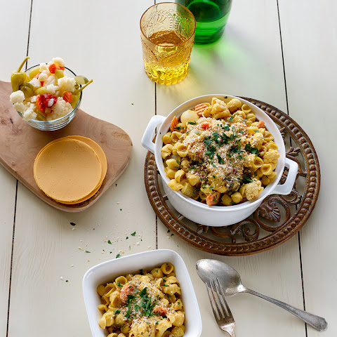 Giardiniera Mac and Cheese