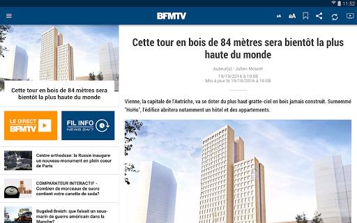 BFMTV : Première sur l'info