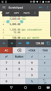 CalcTape Free Tape Calculator- screenshot thumbnail