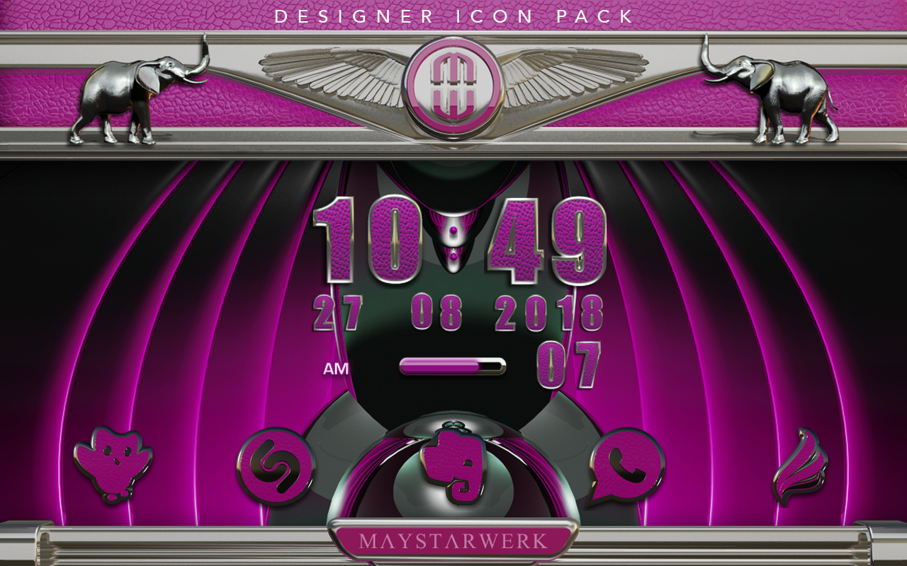 Pink E. HD Icon Pack Screenshot 9