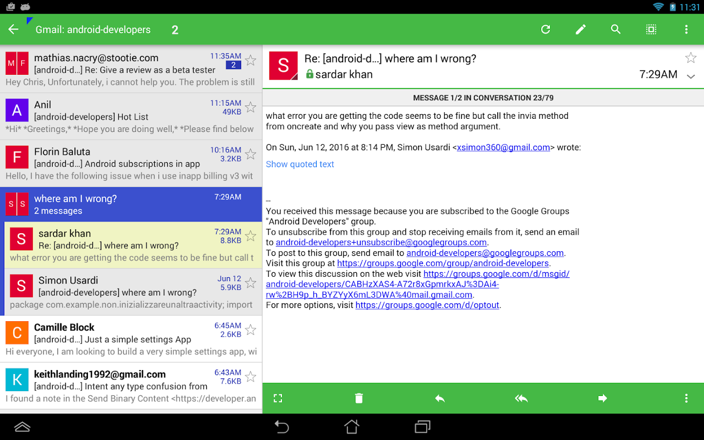yahoo mail apk for android