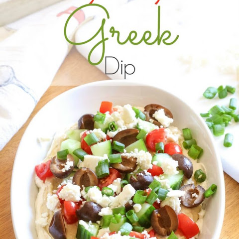 Easy 7-Layer Greek Dip