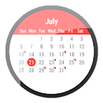 Calendar for Android Wear Icon
