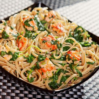 Recipes for fresh salmon and pasta