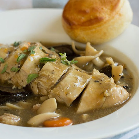Easy Slow-Cooker Chicken Marsala