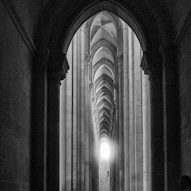 alcobaça by Annette Flottwell - Buildings & Architecture Places of Worship ( alcobaça, gothic, monastery, mosteiro, portugal )