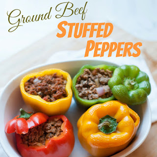 Easy Stuffed Peppers With Meat Sauce