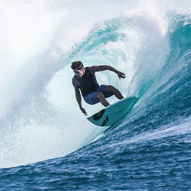 by Bernard Tjandra - Sports & Fitness Surfing