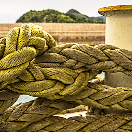 Rope by Richard Michael Lingo - Artistic Objects Industrial Objects ( water, japan, rope, transportation, artistic objects )