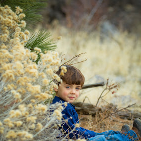 A Peaceful Place to Hide by Billy Brooks - Babies & Children Children Candids