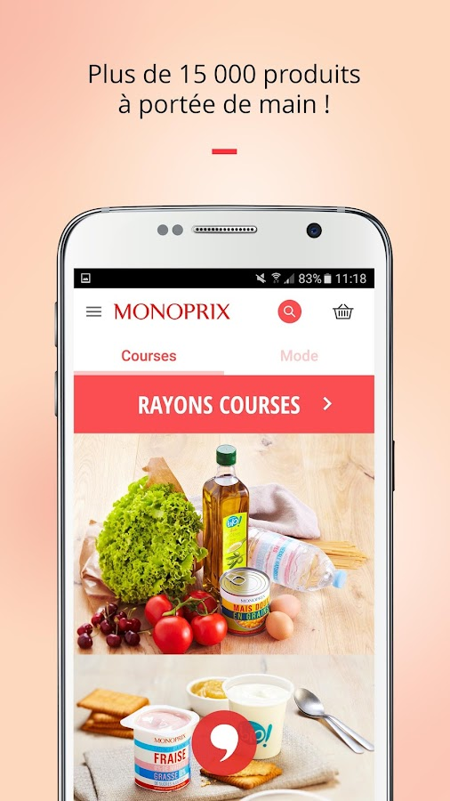 Monoprix Screenshot