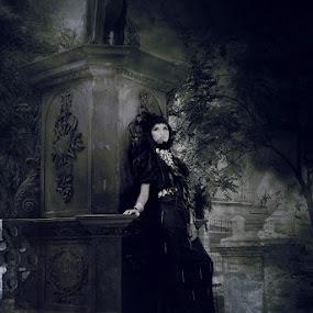 ghotic girl by Sef  Miko - Digital Art People ( people )