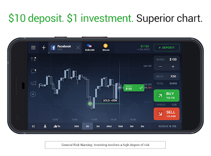 IQ Option broker: trade forex, CFD's, bitcoin APK for Windows