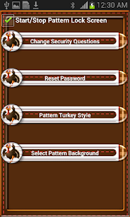 Thanks Giving Pattern Lock - screenshot