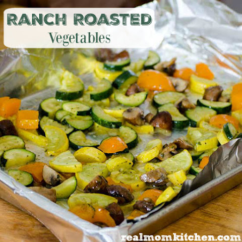 Ranch Roasted Vegetables