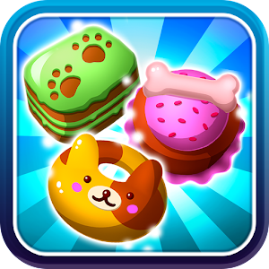 Hungry Pet Mania Free Match 3 Game - Cute Puzzles