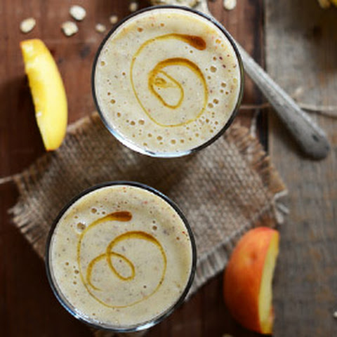 Peach Oat Smoothie