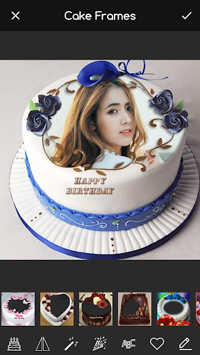 Pic on Birthday Cake with Name and Photo Maker screenshot 1