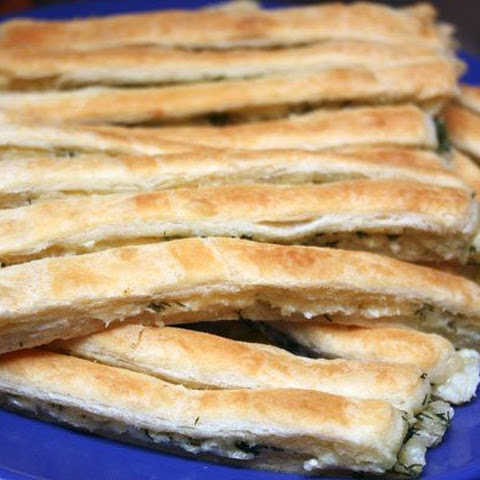 Cheese Sticks Puff Pastry