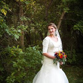 Fairytale Bride by Aubree Larsen - Wedding Bride ( bridal, wedding, wedding dress, boquet, bride )