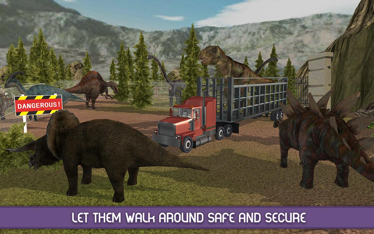 Angry Dinosaur Zoo Transport Screenshot 1