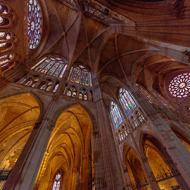 catedral de León by Roberto Gonzalo - Buildings & Architecture Places of Worship ( león, catedral,  )