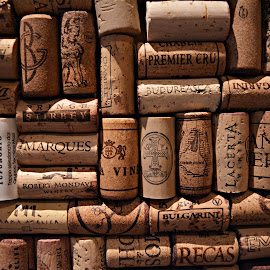 Cork on the wall by Maria Munteanu - Artistic Objects Still Life ( abstract, wine, art, cork stopper, winery,  )