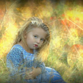 Golden Gold by Jennifer Rigdon - Babies & Children Child Portraits