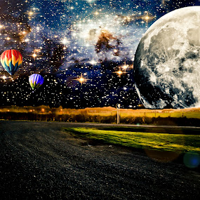 KARISSA BEST PHOTOGRAPHY by Karissa Best - Digital Art Places ( sky, stars, outdoors, edit, space, manipulation, photoshop )