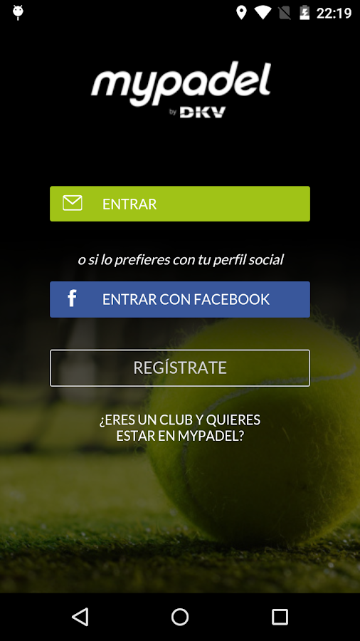 mypadel Screenshot